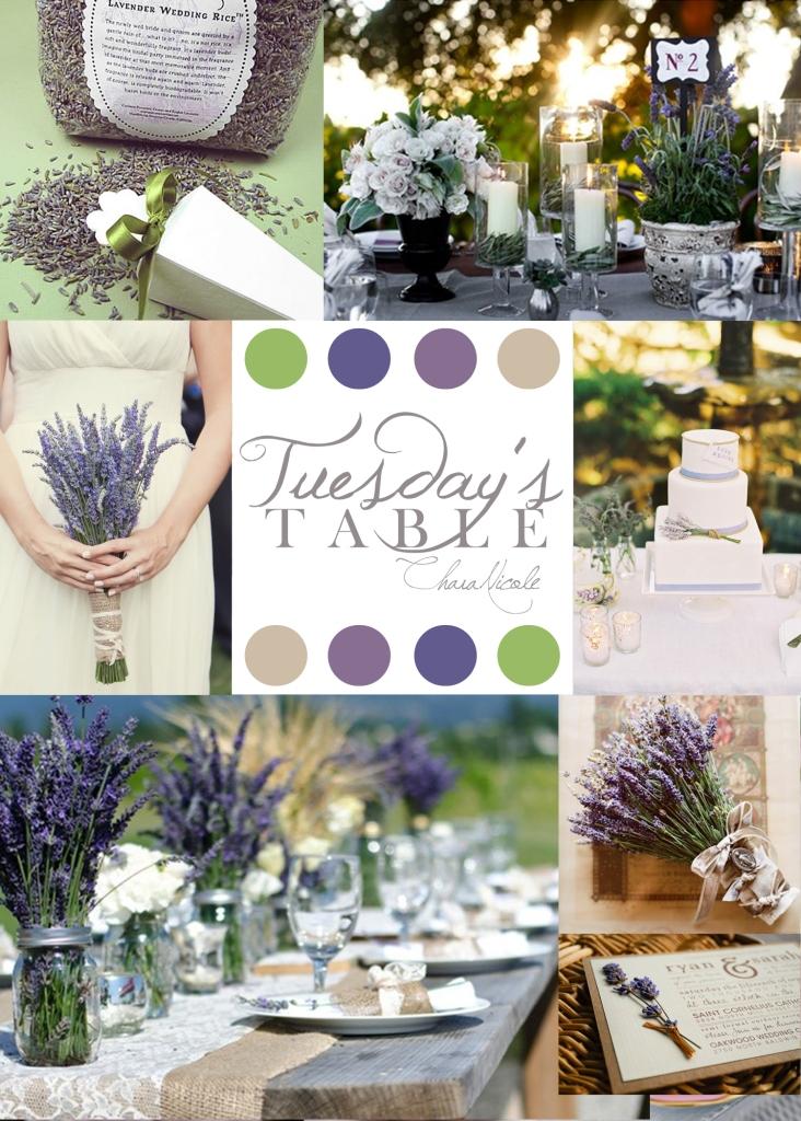 TT 6 Lavender TuesdaysTable