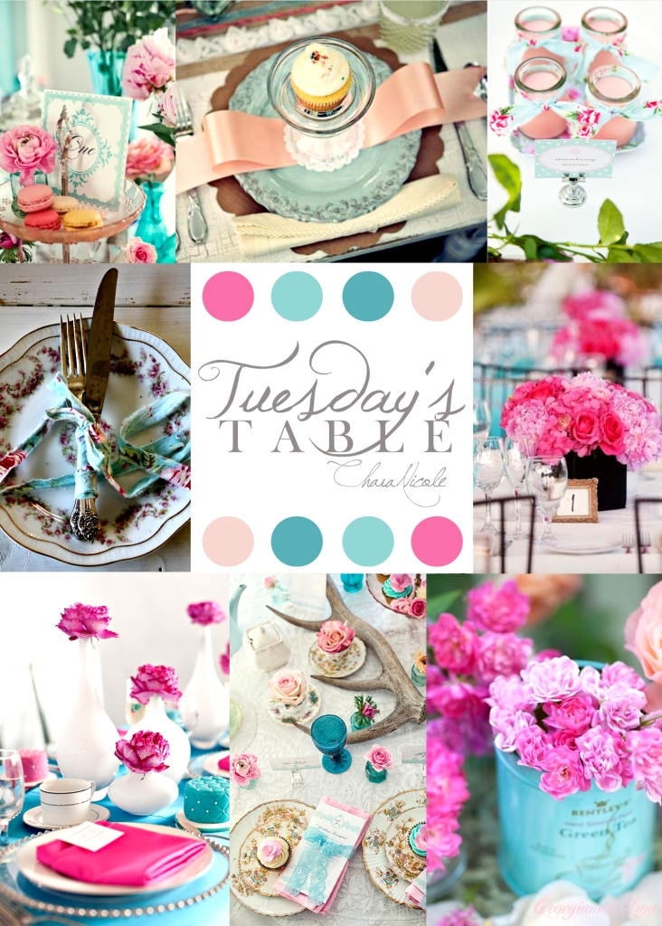 TuesdaysTable PinkBlue
