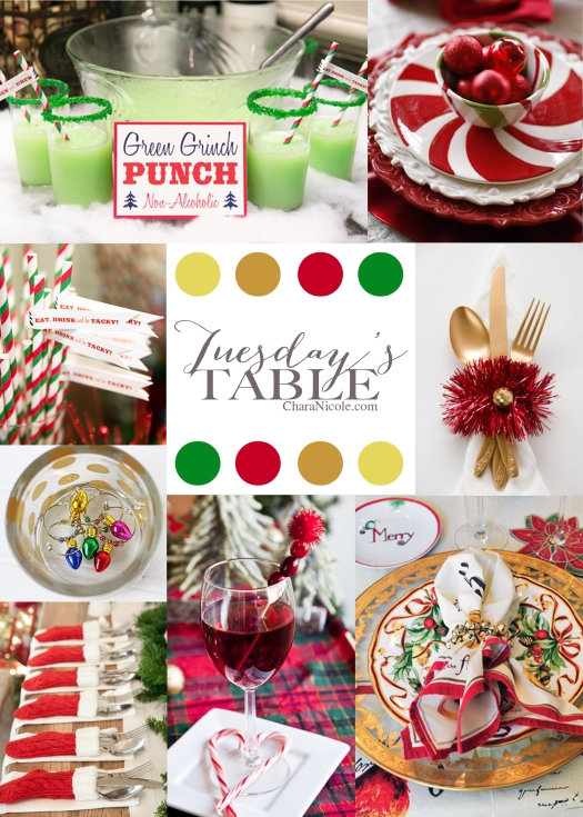 TT 31 TuesdaysTable TACKY CHRISTMAS