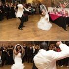 Gyasmine & Aaron Wedding   Photo by Charles Maceo Photography