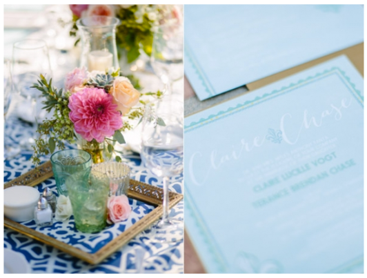 Claire & Chase Wedding | Photo by joielala